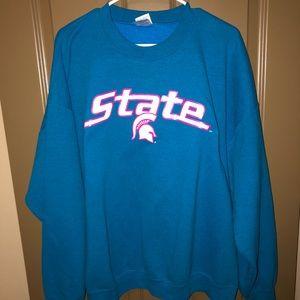 Vintage Michigan State Sweater